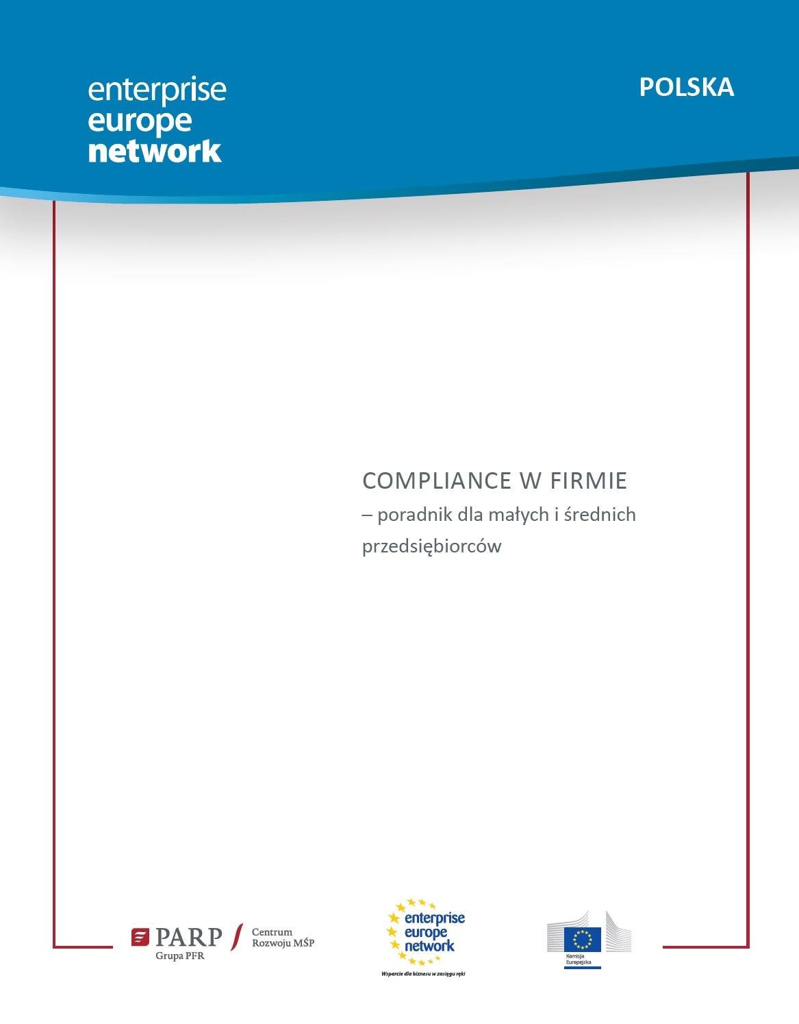 Compliance w firmie – poradnik dla małych i średnich przedsiębiorców