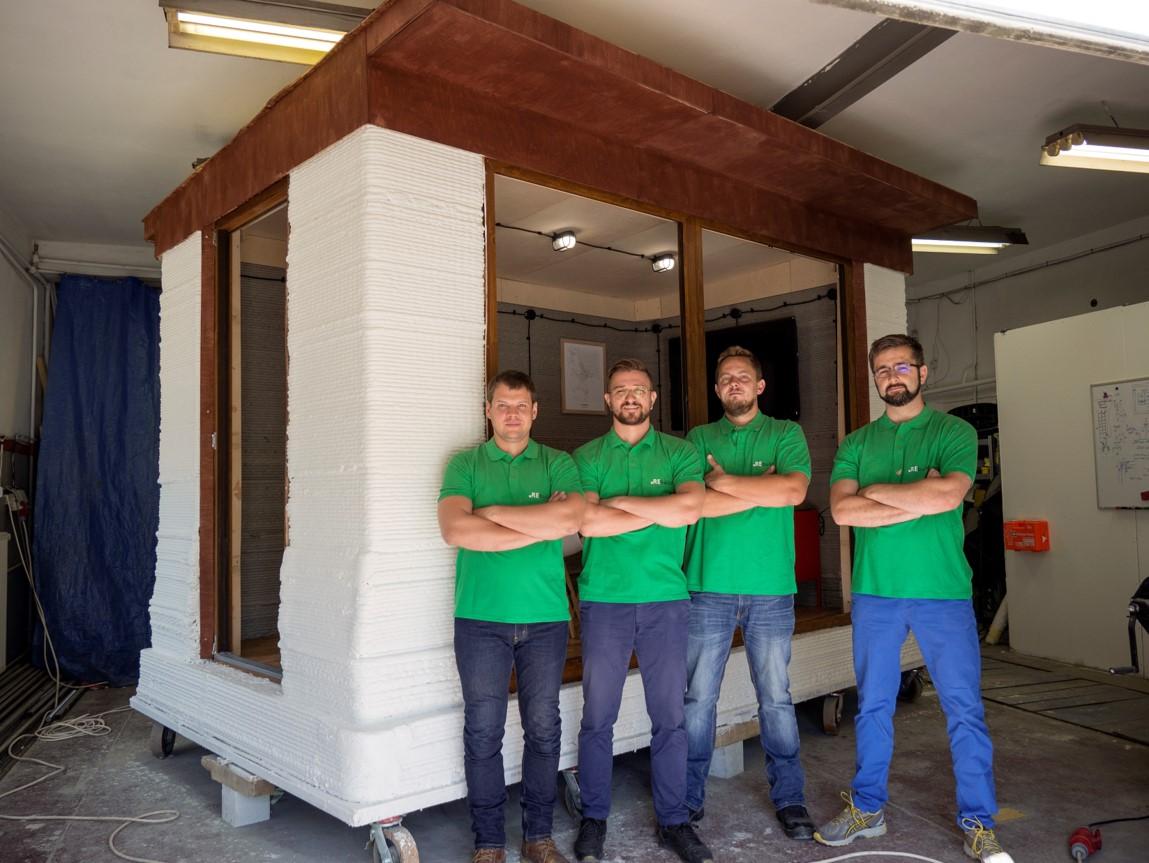 Poznajcie REbuild. Drukują domy z betonu