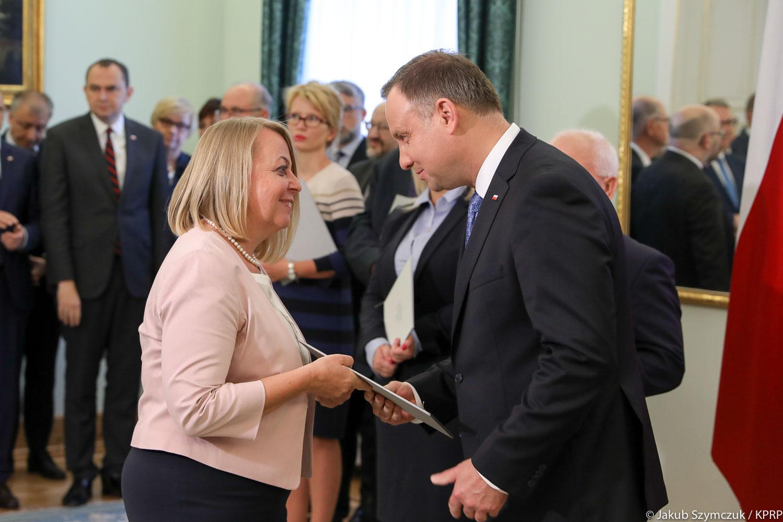 Małgorzata Oleszczuk, prezes PARP została powołana do kapitały Nagrody Gospodarczej Prezydenta RP