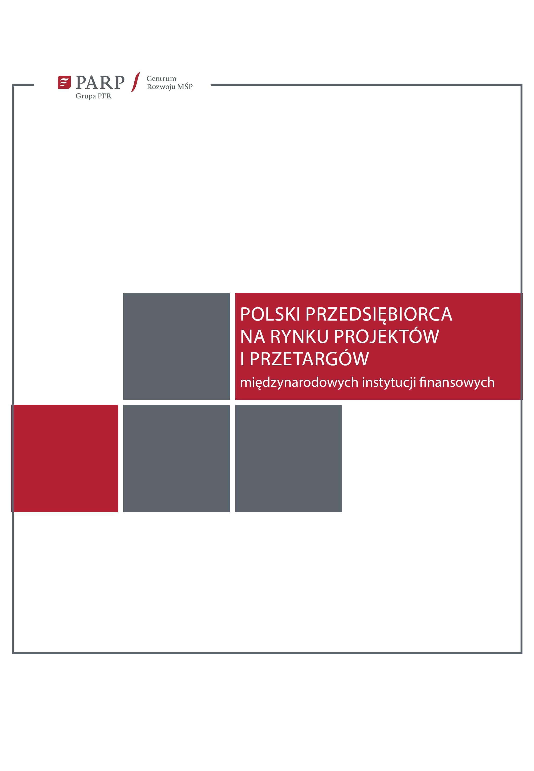 Polski przedsiębiorca na rynku projektów i przetargów międzynarodowych instytucji finansowych