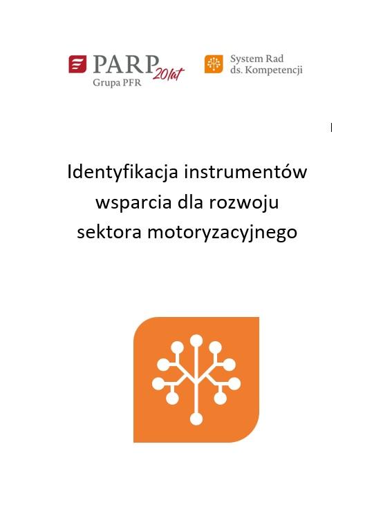 Identyfikacja instrumentów wsparcia dla rozwoju sektora motoryzacyjnego
